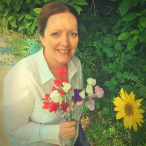 Claire Founder of Natural Skincare Business The Flower Power Company